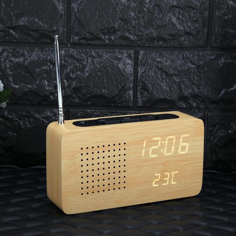 aurora sono radio r veil lumineux en bois bois qui chante. Black Bedroom Furniture Sets. Home Design Ideas