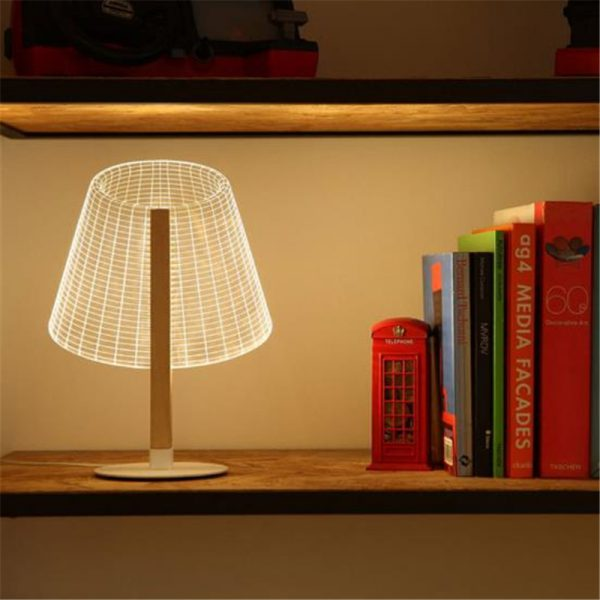 Ins-Hot-3D-Effect-LED-Desk-Lamp-Wood-Support-Acrylic-Lampshade-LED-Light-Living-Room-Bedroom-1