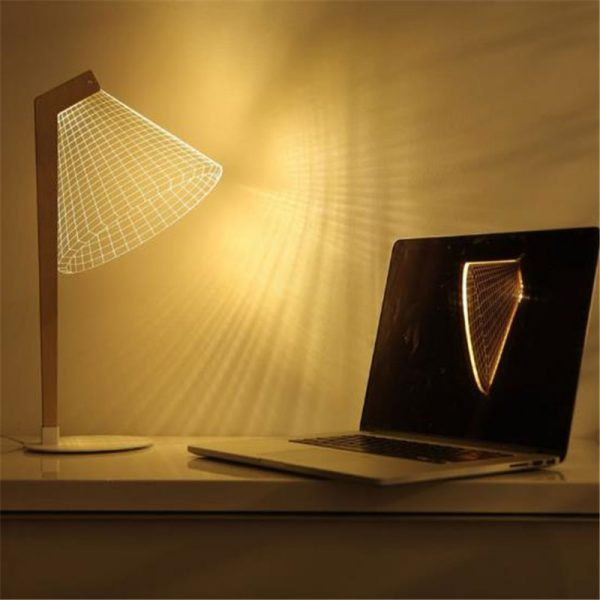 Ins-Hot-3D-Effect-LED-Desk-Lamp-Wood-Support-Acrylic-Lampshade-LED-Light-Living-Room-Bedroom-2