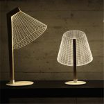 Ins-Hot-3D-Effect-LED-Desk-Lamp-Wood-Support-Acrylic-Lampshade-LED-Light-Living-Room-Bedroom-3