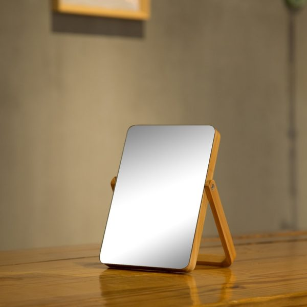 Home-HD-Makeup-Mirror-Wooden-Bathroom-Accessories-Foldable-Desktop-Decoration-Mirror-High-Clear-Standing-Cosmetic-Dresser-1