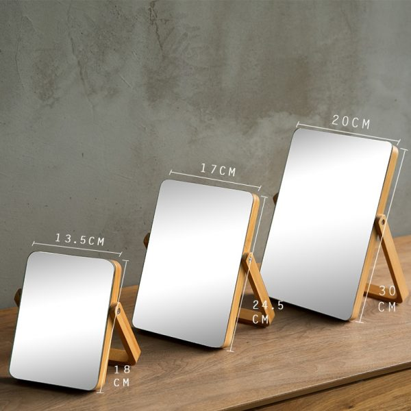 Home-HD-Makeup-Mirror-Wooden-Bathroom-Accessories-Foldable-Desktop-Decoration-Mirror-High-Clear-Standing-Cosmetic-Dresser-3