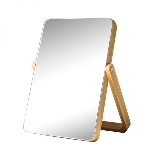 Home-HD-Makeup-Mirror-Wooden-Bathroom-Accessories-Foldable-Desktop-Decoration-Mirror-High-Clear-Standing-Cosmetic-Dresser-4