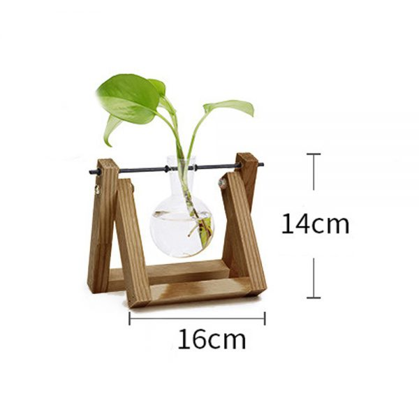ISHOWTIENDA-Vintage-Creative-Hydroponic-Plant-Transparent-Vase-Wooden-Frame-vase-for-decoratio-Glass-Tabletop-Plant-Bonsai-5