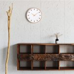 Large-Wall-Clocks-wood-metal-needle-number-modern-line-Silent-Movement-clear-glass-cover-beech-outershell-1