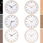 Large-Wall-Clocks-wood-metal-needle-number-modern-line-Silent-Movement-clear-glass-cover-beech-outershell-5