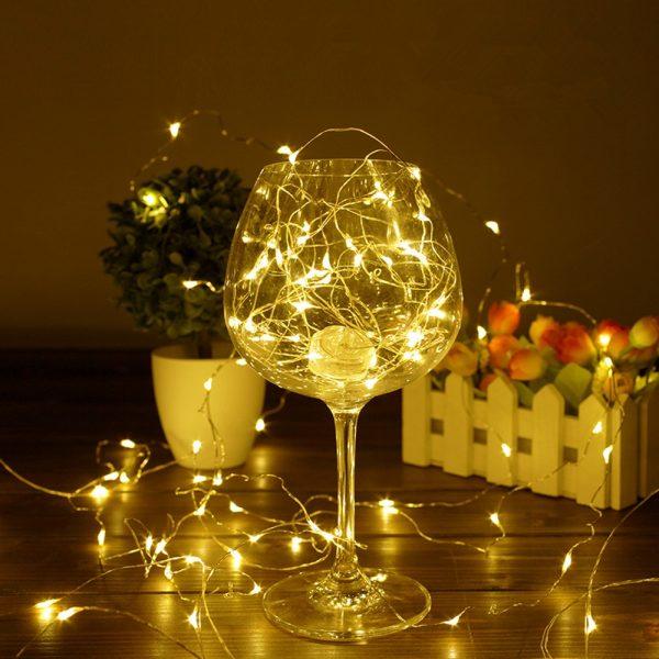 Guirlande lumineuse fine LED