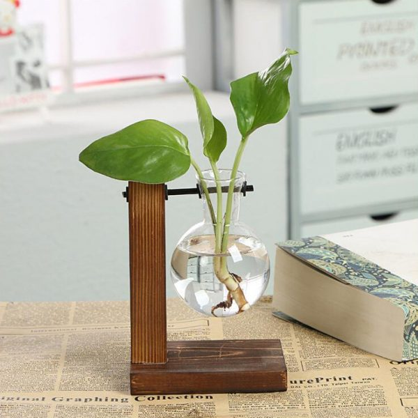 Vintage-Style-Glass-Tabletop-Plant-Bonsai-Flower-Christmas-Decorative-Vase-With-Wooden-L-T-Shape-Tray-0 copy